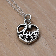 FILIGREE AUNT - Sterling Silver Charm Necklace