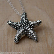 Starfish Necklace - 925 Sterling Silver