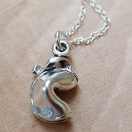FORTUNE COOKIE - Sterling Silver Charm Necklace