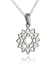 Heart Chakra Necklace - 925 Sterling Silver
