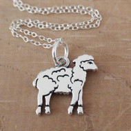 LAMB - Sterling Silver Charm Necklace