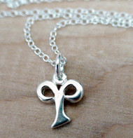 ARIES - HOROSCOPE - Sterling Silver Charm Necklace