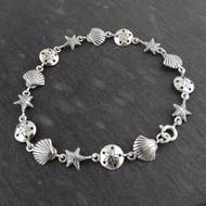 Ocean Beach Bracelet - 925 Sterling Silver