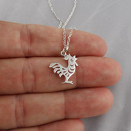 Year of the Rooster Necklace - 925 Sterling Silver