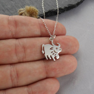 Year of the Ox Necklace - 925 Sterling Silver