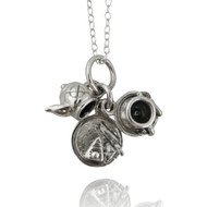 Afternoon Tea Trio Charm - 925 Sterling Silver