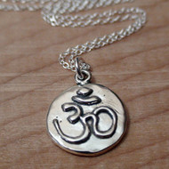 OHM - Sterling Silver Charm Necklace