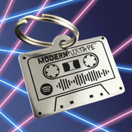 Modern Mixtape - Classic Cassette Tape Key Chain