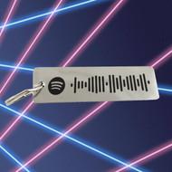 Modern Mixtape - Minimalist Key Chain