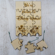 We're Going to Disney World Ornament Puzzle