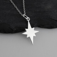 North Star Necklace - 925 Sterling Silver