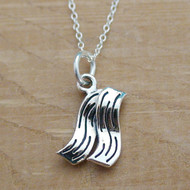 BACON - Sterling Silver Charm Necklace