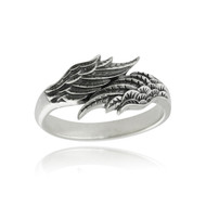 Angel Wings Ring - 925 Sterling Silver