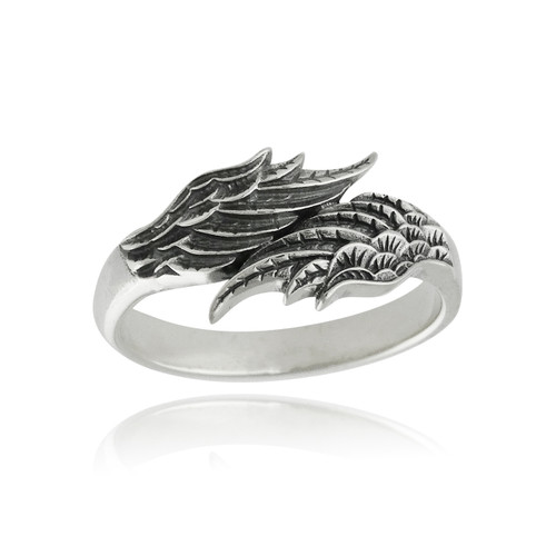 Angel Wings Ring - 925 Sterling Silver