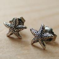 Sterling Silver Starfish Post Earrings Starfish Earrings