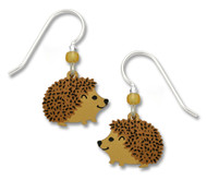 Hedgehog Earrings by Sienna Sky