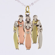 Far Fetched Mima and Oly Six Sisters Necklace