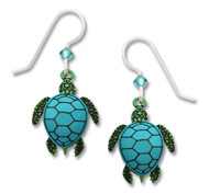 Sienna Sky Sea Turtle Earrings