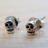 Skull Earrings - Itty Bitty