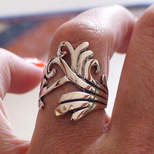 Fancy Ring in Sterling Silver