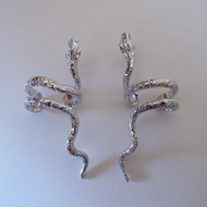 Sterling Silver Snake Ear Cuffs - 2 Pieces