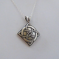 Celtic Knot Luck Pendant Necklace