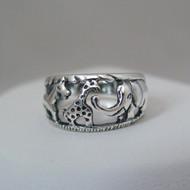Sterling Silver Noah's Ark Ring