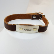 Sisters Leather Bracelet