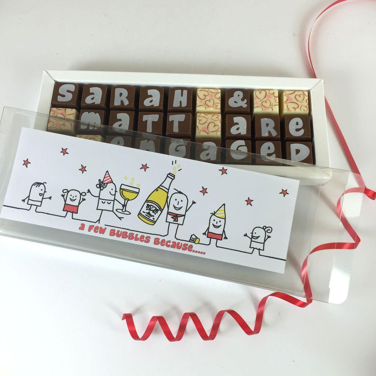 Personalised CONGRATULATIONS Chocolate Box