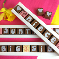 Build a Stick Box of Personalised Chocolates