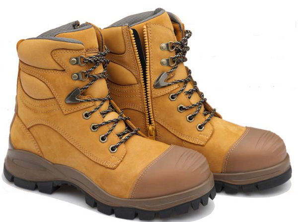 Men - Work Boots - Work Boots - Safety - Lace Up & Zip Sided ...