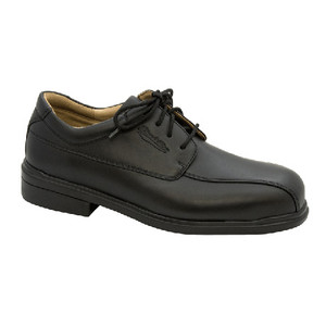 Blundstone 780 Black Full Grain Leather safety lace up Shoe