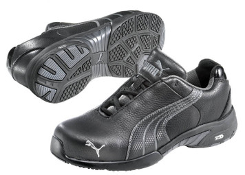 Puma Miss Safety 642857 with Steel Toe Cap Black