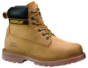 Cat Boots Holton ST Safety Boots (Steel Cap) Honey