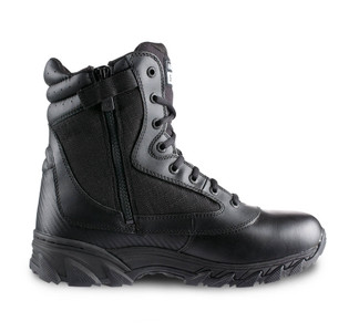 "Original Swat Chase 9"" Zip Sided Tactical Boots Black"