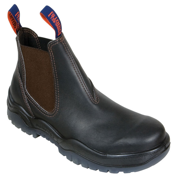 Mongrel Boots 916030 Oil Kip Pull On Boots Non Safety