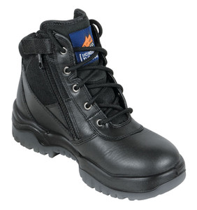 Mongrel Boots 961020 Black Zip Side Boot Non Safety