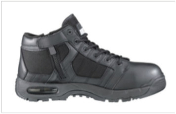 Original Swat 1261 Zip Sided Tactical Boots with Composite Toe Cap Black