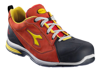 Diadora Utility Jet Breathable Safety Shoes with Aluminium Toe Cap, Dark Red