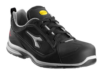 Diadora Utility Jet Breathable Safety Shoes with Aluminium Toe Cap, Black