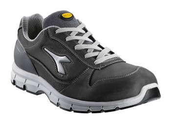 Diadora Utility Run Penetration Resistant Safety Shoes with Steel Toe Cap, Light Grey