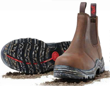 Mack Boots Farmer Non Safety Water Resistant Nitrile Soled Pull On Work Boots