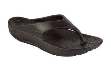 Telic Thongs - Flip Flops Midnight Black