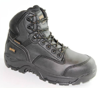 Magnum Precision Max Black Waterproof Composite Toe Work Boots