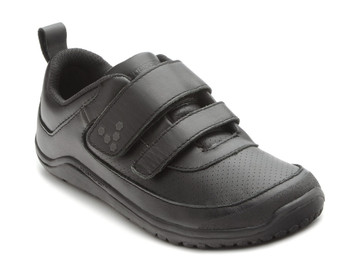 Vivo Barefoot Kids Neo Velcro K Leather Black