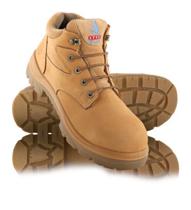 Steel Blue WHYALLA Steel Cap Hiker Style Safety Boots Wheat