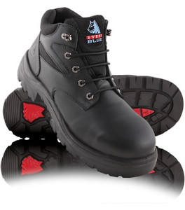 Steel Blue WHYALLA Soft Toe Hiker Style Boots Black