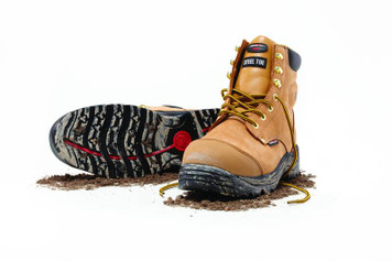 Mack Boots Stirling Steel Toe Work Boots With Bump Cap Honey