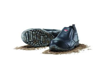 Mack Boots President Composite Toe Slip On Work Shoes Black