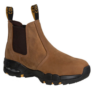 Cougar E103 NS Elastic Sided Work Boots Non Safety